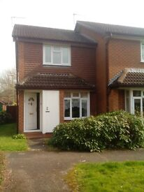 ROMSEY 2 Bed end of terrace house with off road parking