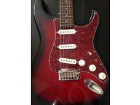 Squier by Fender Standard Stratocaster in Antique Burst
