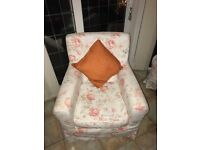 ikea armchair complete with cover