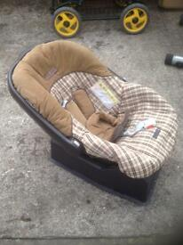 New born size car seat