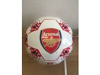 Arsenal Official licensed Football. Size 5 with club details and colours