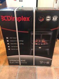 Dimplex Springbourne Electric Stove - BRAND NEW BOXED