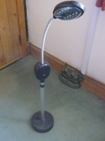 LED battery operated floor lamp