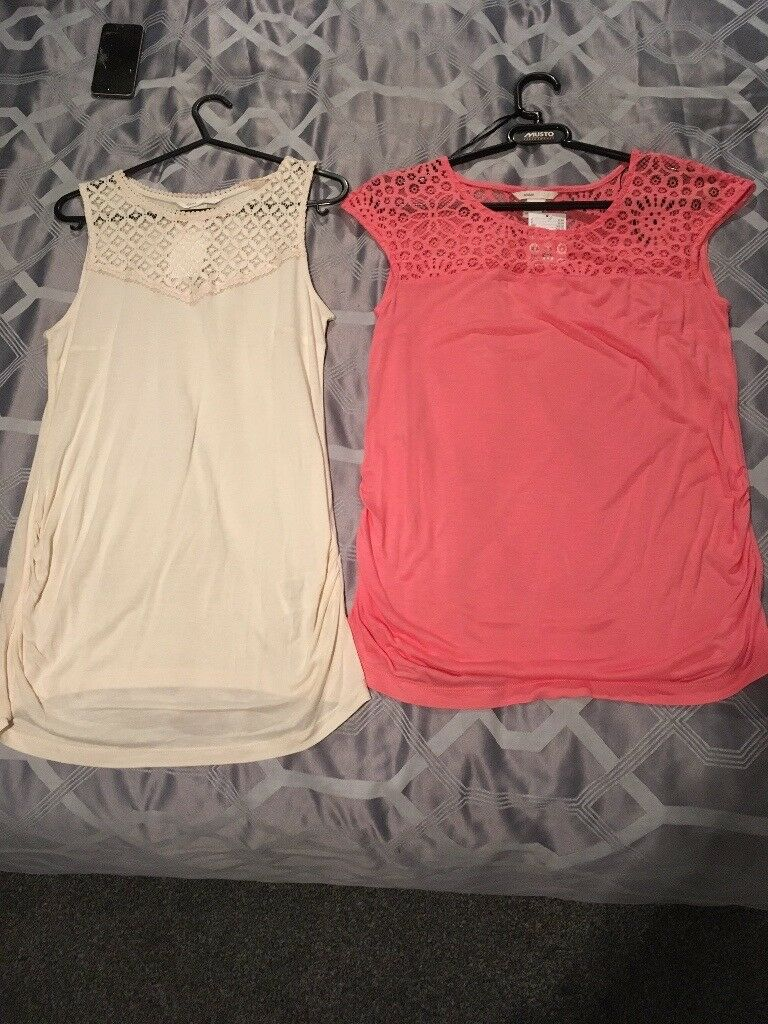 Two maternity tops - brand new