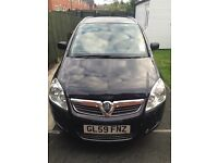 Vauxhall zafira 1.6 design immaculate 7 seater