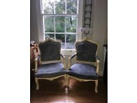Vintage French Chair pair