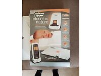 Tommee Tippee baby monitor with movement sensor pad