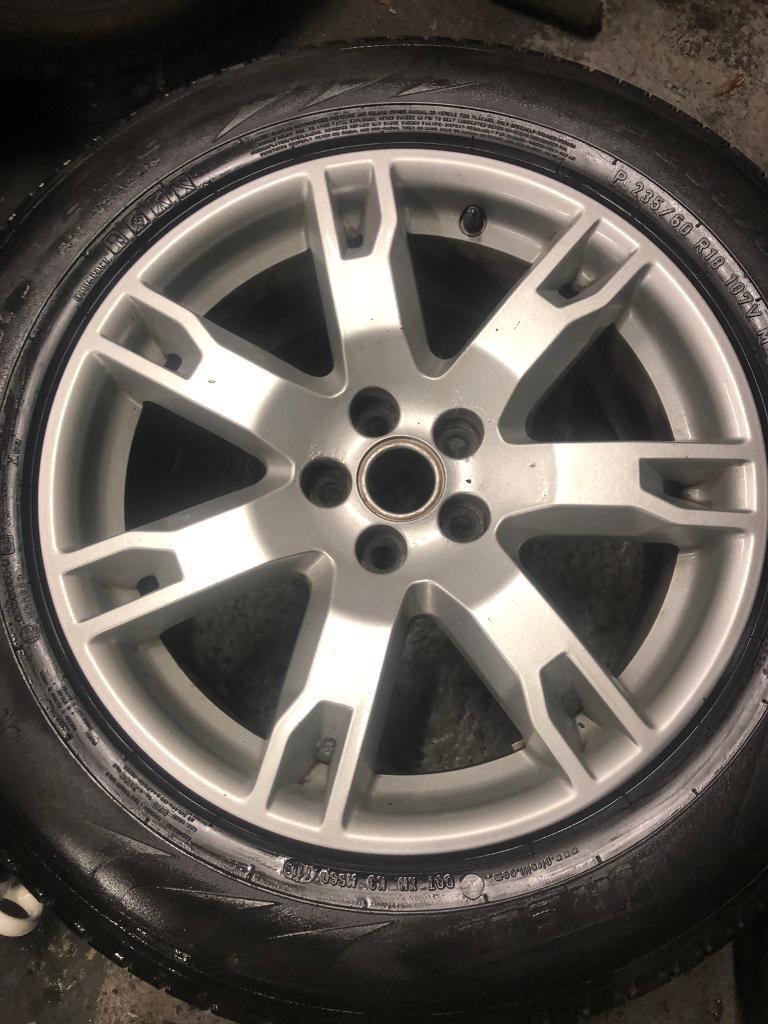 Genuine Range Rover evoque Land Rover freelander alloys and tyres | in  Stoke-on-Trent, Staffordshire | Gumtree