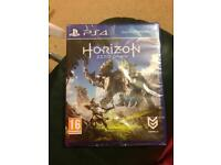Horizon zero dawn PS4- Unopened