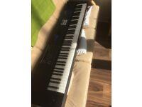 Roland Juno DS88 c/w Stagg Keyboard Case
