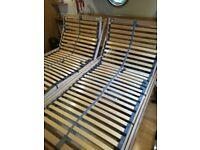 Motorised adjustable bed, super king size