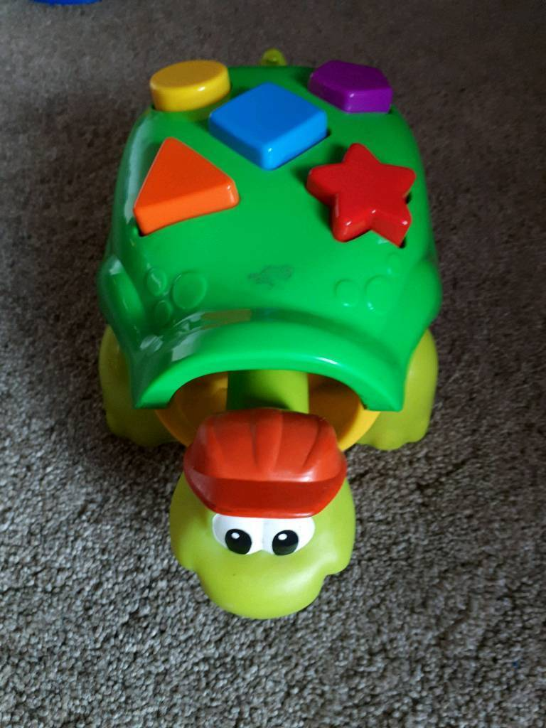 Hoover, you Turtle,camera and push down toy