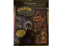 Nintendo GameCube game crash bandicoot disc boxed