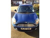 Mini One Low mileage Blue good condition