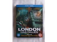 LONDON HAS FALLEN BLU-RAY DVD