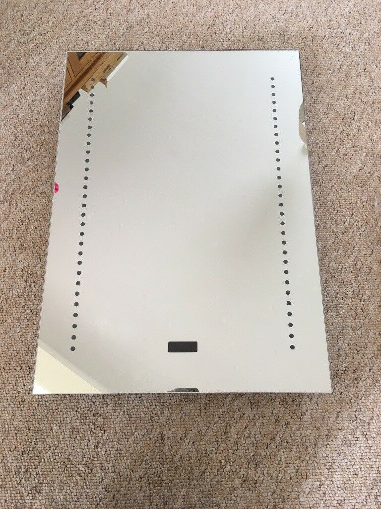 LED Bathroom Mirror with clock | in Bournemouth, Dorset | Gumtree