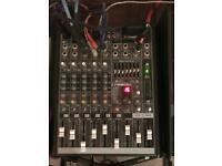 Mackie Pro FX8 8 channel mixer mixing desk USB audio interface