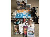 Nintendo Wii Bundle - Wii Console + 9 Games + Dance Mat + Skylanders