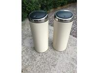Brabantia Almond Cream 30L pedal Touch Bin 2 available Current on sale in Debenhams @ £72.50 each !