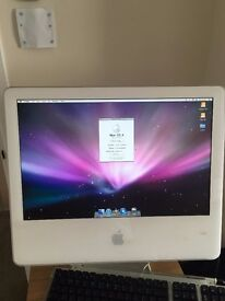 """iMac G5 20"""" Partially Working - No HDD"""