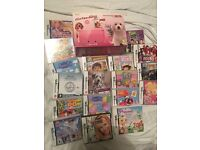 Pink Nintendo 3DS with games