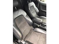 Audi a3 half leather seats