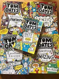 Tom gates books- (5 books)