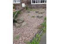 Rockery stones (various sizes including very large)