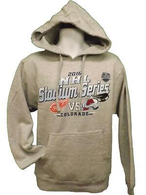 2016 Stadium Series Detroit Red Wings Colorado Avalanche MEN S-M-L-XL-2XL -