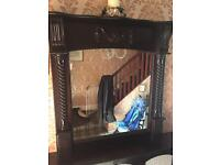 Solid Dining/Living room Wall Mirror