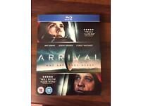 ARRIVAL ON BLU RAY