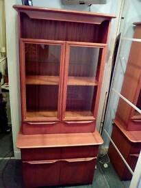 Oak Display Cabinet