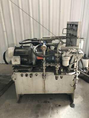 155hp Hydraulic Power Unit W Counter Balance 17301740rpm 65gal 575v 3ph