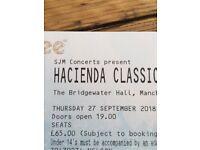 2x Hacienda Classical tickets