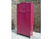 FREE DELIVERY Retro Purple Wardrobe Vintage Furniture 77
