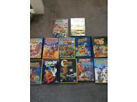 Scooby doo DVDs x 12