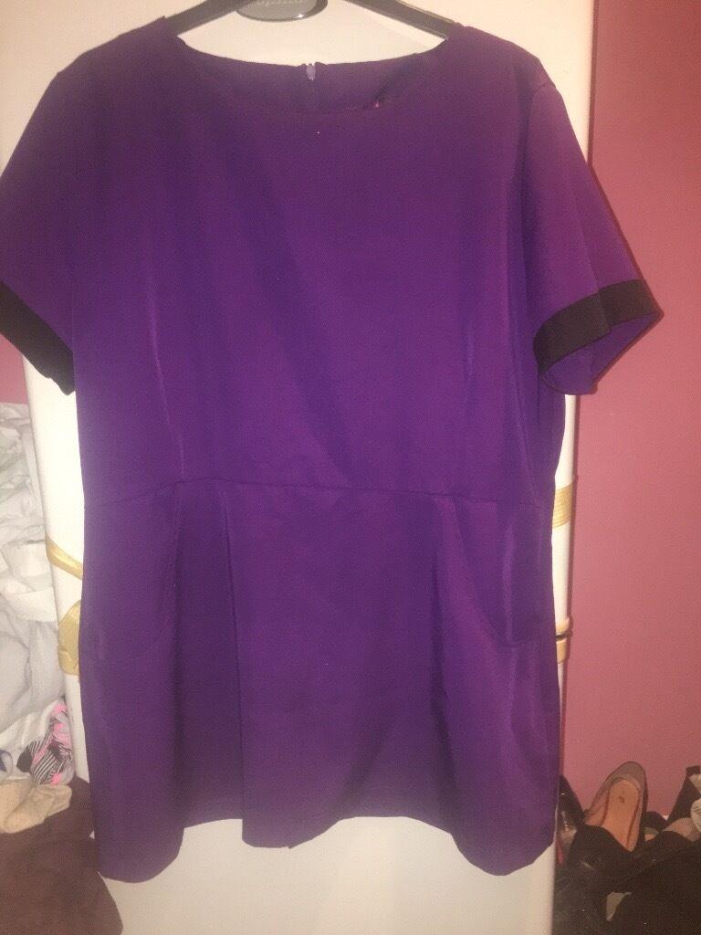 Size 18 purple tunicin Ruislip, LondonGumtree - Size 18 worn handful of times no marks. Will de crease before sale