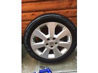 17 inch Vauxhall wheels x4