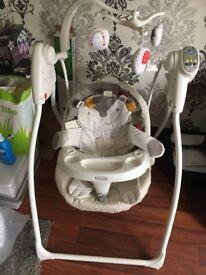Baby graco bear hug me chair