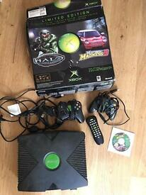 Limited Edition Xbox With Controllers And Box