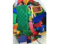 Duplo and Lego.