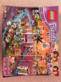 Brand new (unopened box) Lego Friends Amusement Park Roller Coaster (41130).