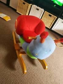 Child's rocking snail