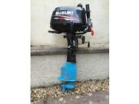 Suzuki DF6 6HP outboard motor - very little used
