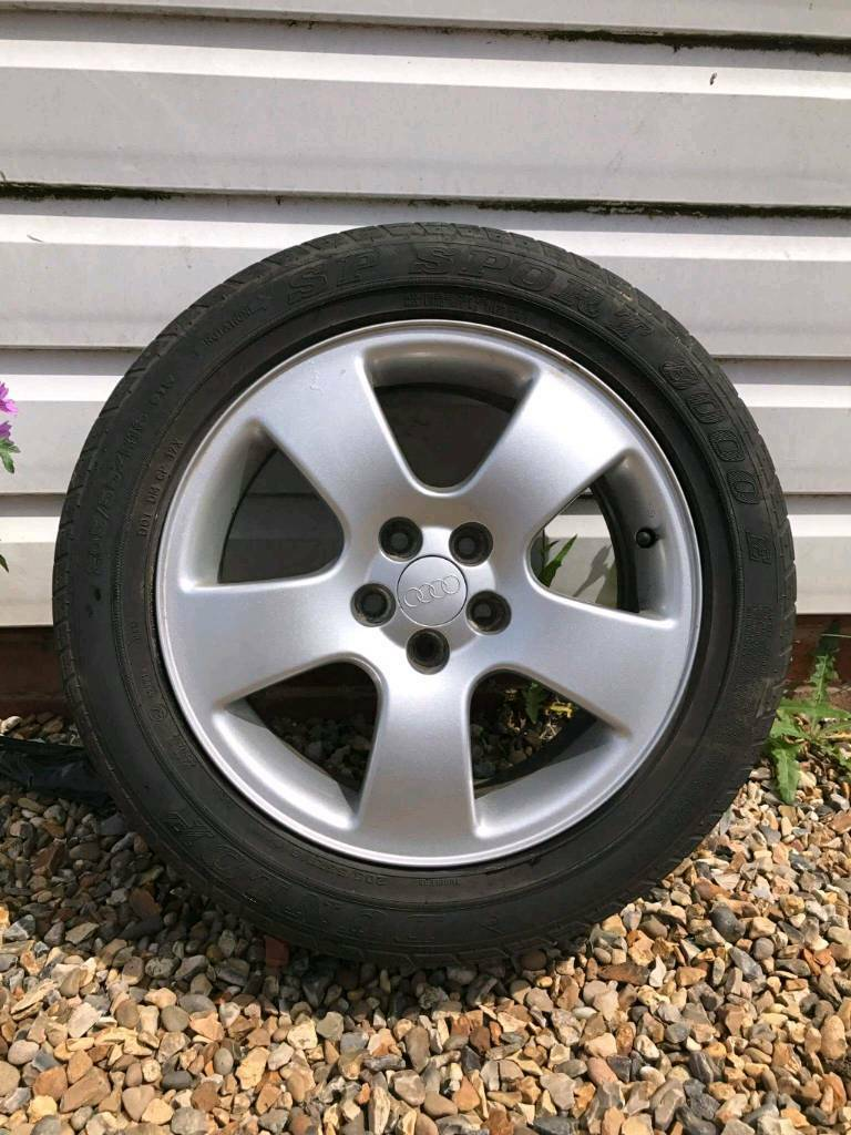 16 audi a3 8l wheels 5x100 alloys good condition in norwich norfolk gumtree. Black Bedroom Furniture Sets. Home Design Ideas