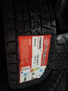 4 winter tires firemax 235/60r18 new