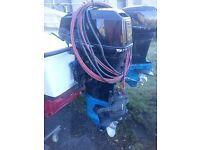 Outboard 55hp yamaha,l/s,elec start,controls and cables