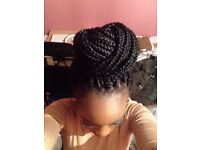 Afro hairdresser Super Fast! Braids, cornrows, twists, weave