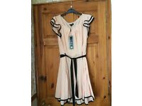BNWT peach and black LOVEDROBE dress size 20. £10 Great for a summer wedding