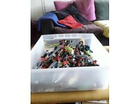 Large collection of Lego Bionnicles